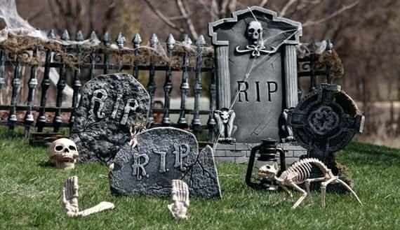 best outdoor Halloween decoration ideas, best outdoor Halloween