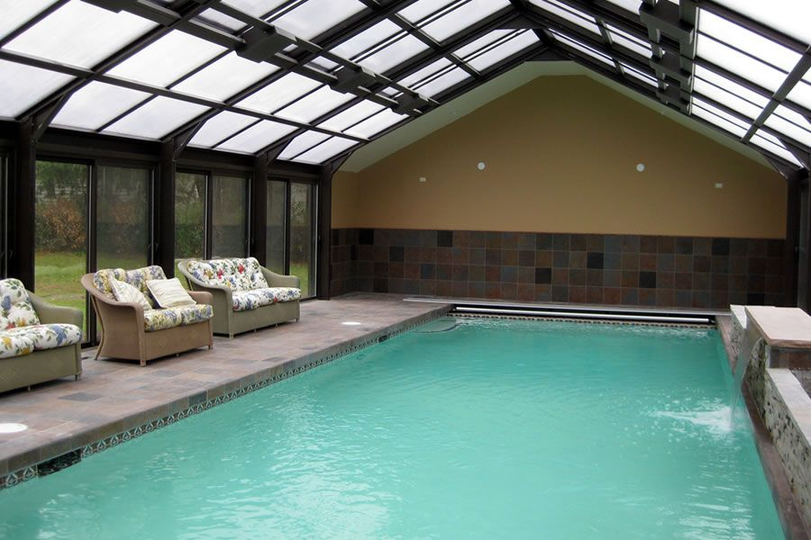 Indoor Swimming Pool With Extraordinary Design Ideas Indoor pools