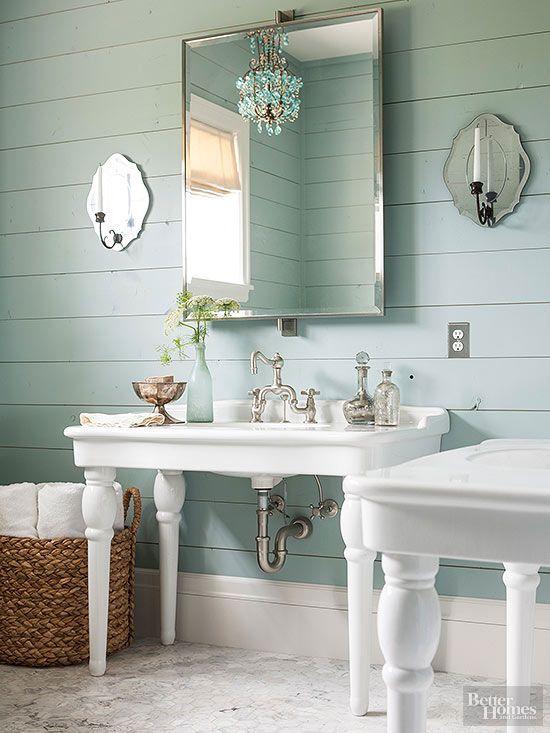Bathrooms With Vintage Style Salle De Bains Shabby Chic Deco Toilettes Et Inspiration Salle De Bain