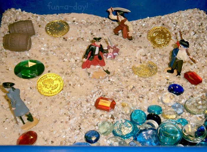 fun ideas for childrens pirate small world and sensory play over 10 sensory play activities for the little pirates to enjoy me hearties