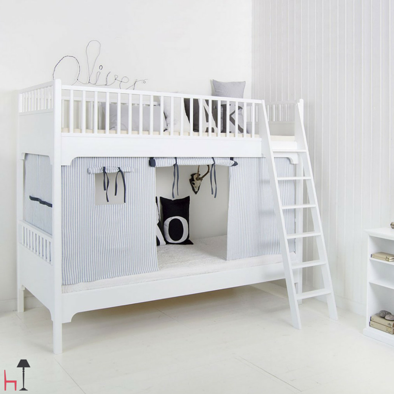 Curtains for Seaside low loft bed/bunk bed | tot ...
