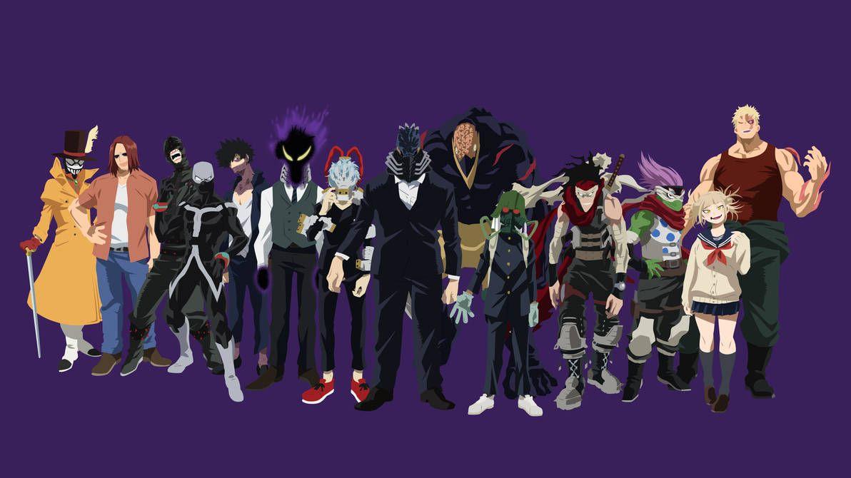 My Hero Academia League Of Villans Face By Vk For Da Win My Hero Academia Boku No Hero Academia My Hero