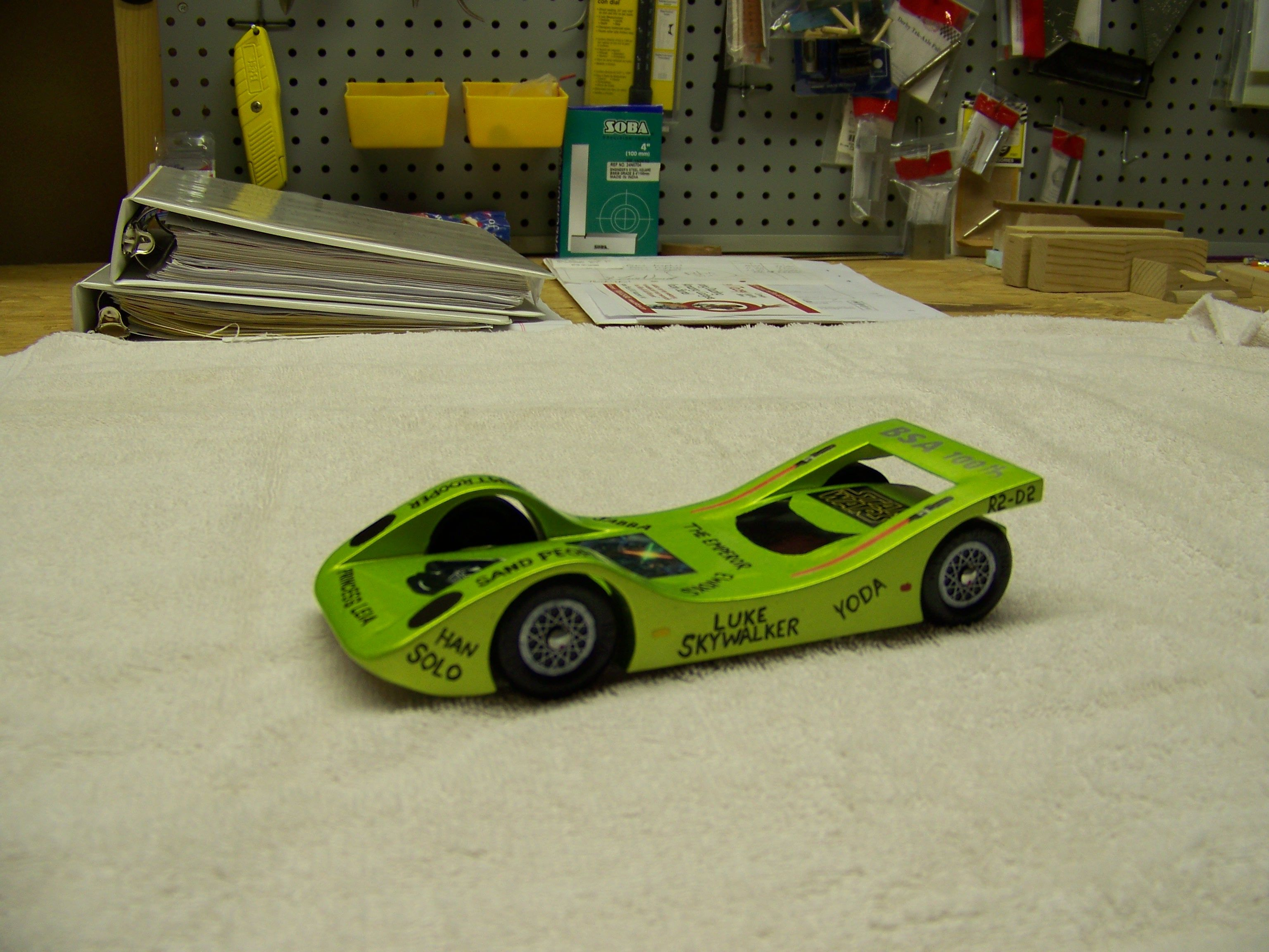 pinederby car