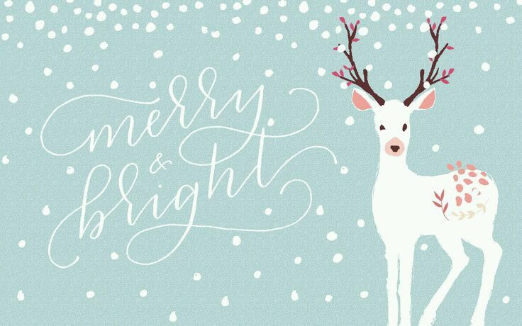Pin By Jamie Cabral On Drawing Christmas Desktop Wallpaper Cute Christmas Backgrounds December Wallpaper