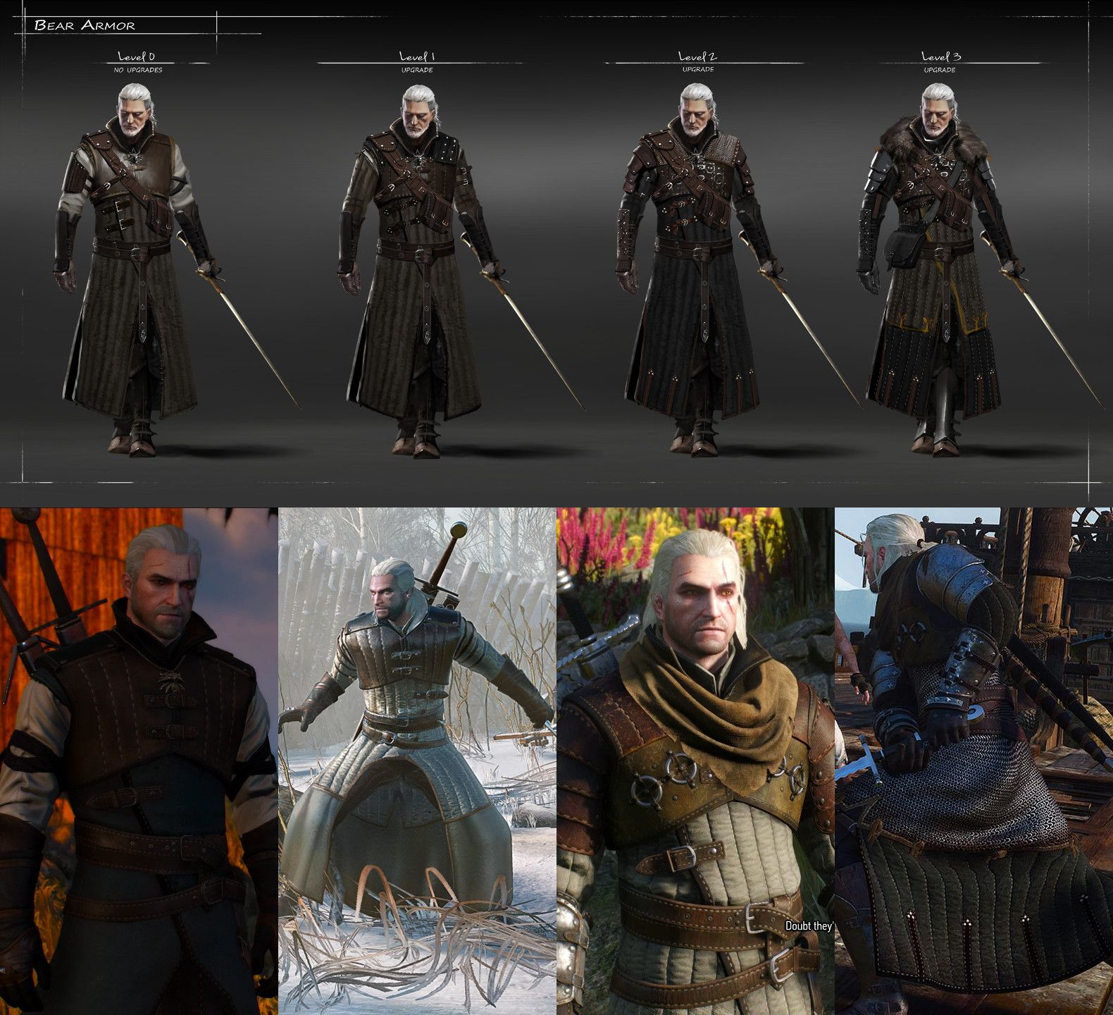 Pin by Anthony Jones on Dark Road | Witcher 3 bear armor