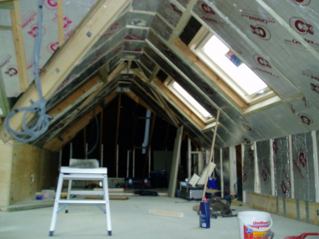 Loft Conversion Nearly Finished Zolder Inspiratie Zolder Opberging