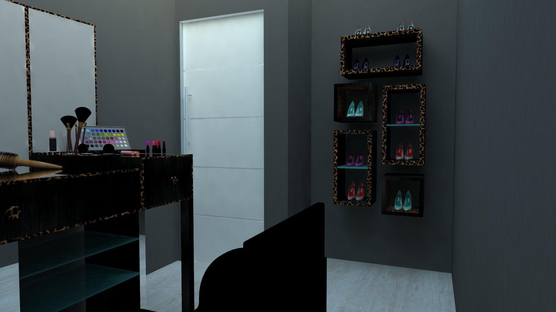 Sala de corte cabeleireira Patricia Donanzan (2) - MD Studio de beleza