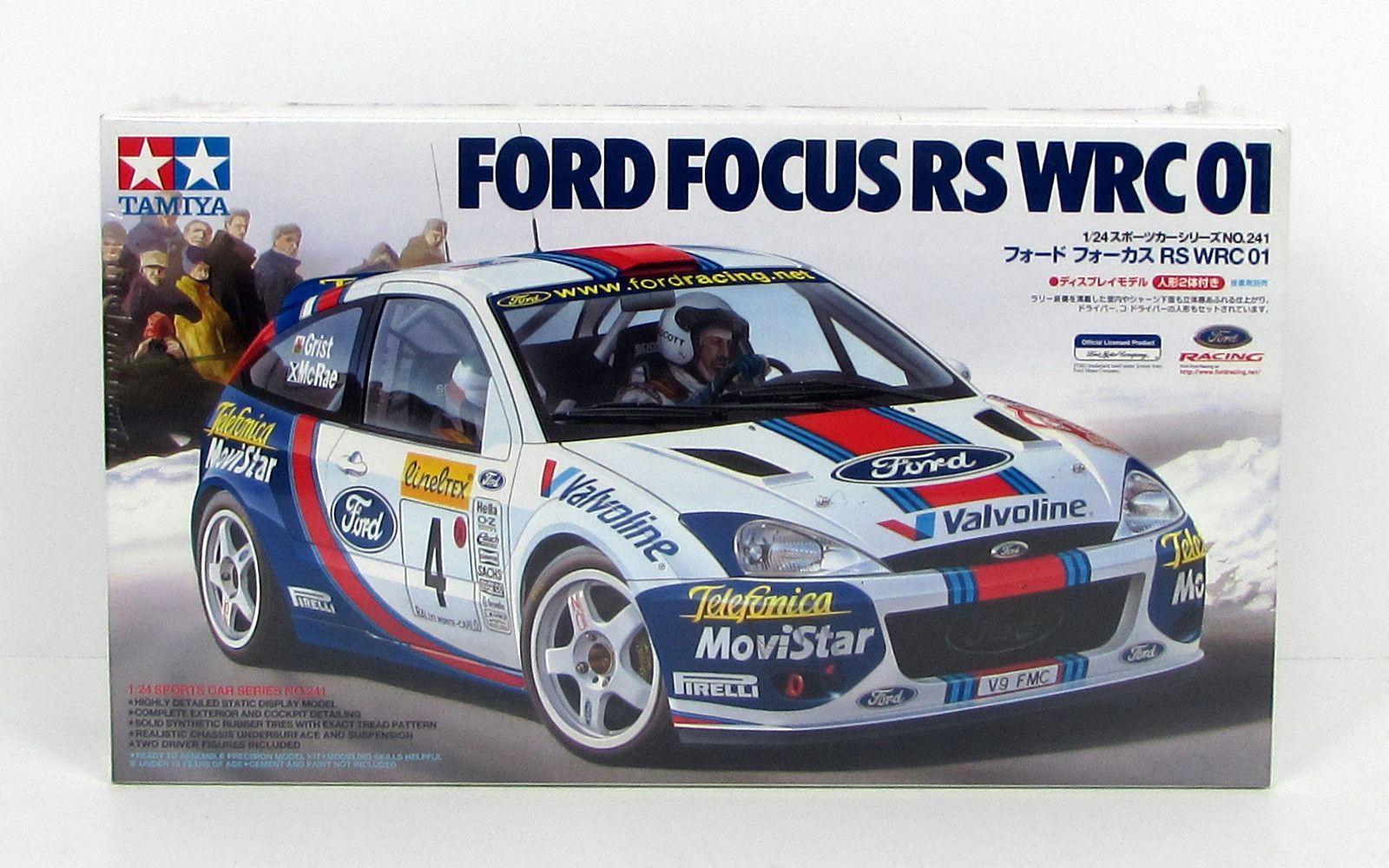 Ford Focus Wrc 01 Tamiya 24241 1 24 New Model Car Kit Ford Focus