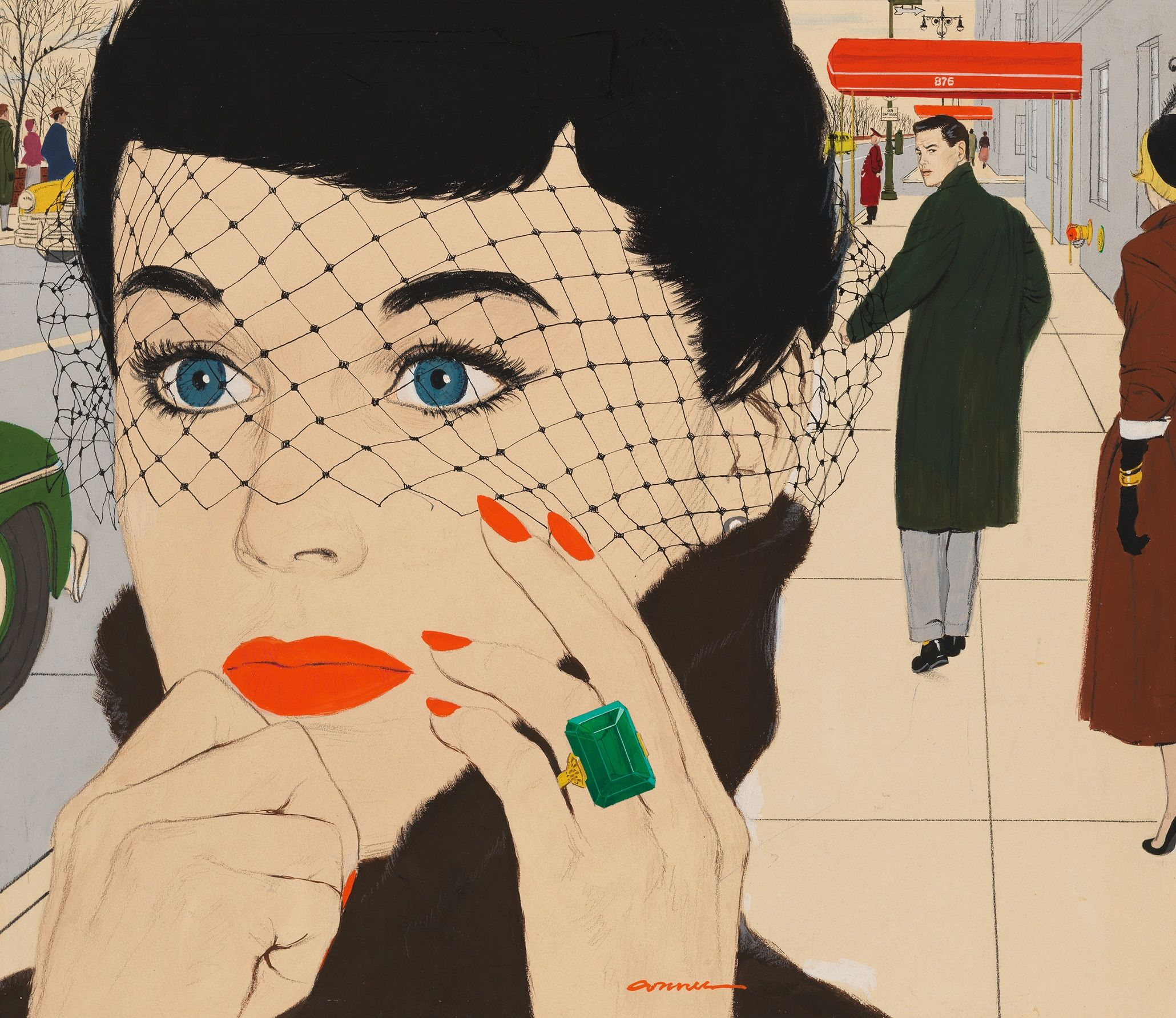 The real Mad Men: Mac Conner\'s stunning New York illustrations – in ...