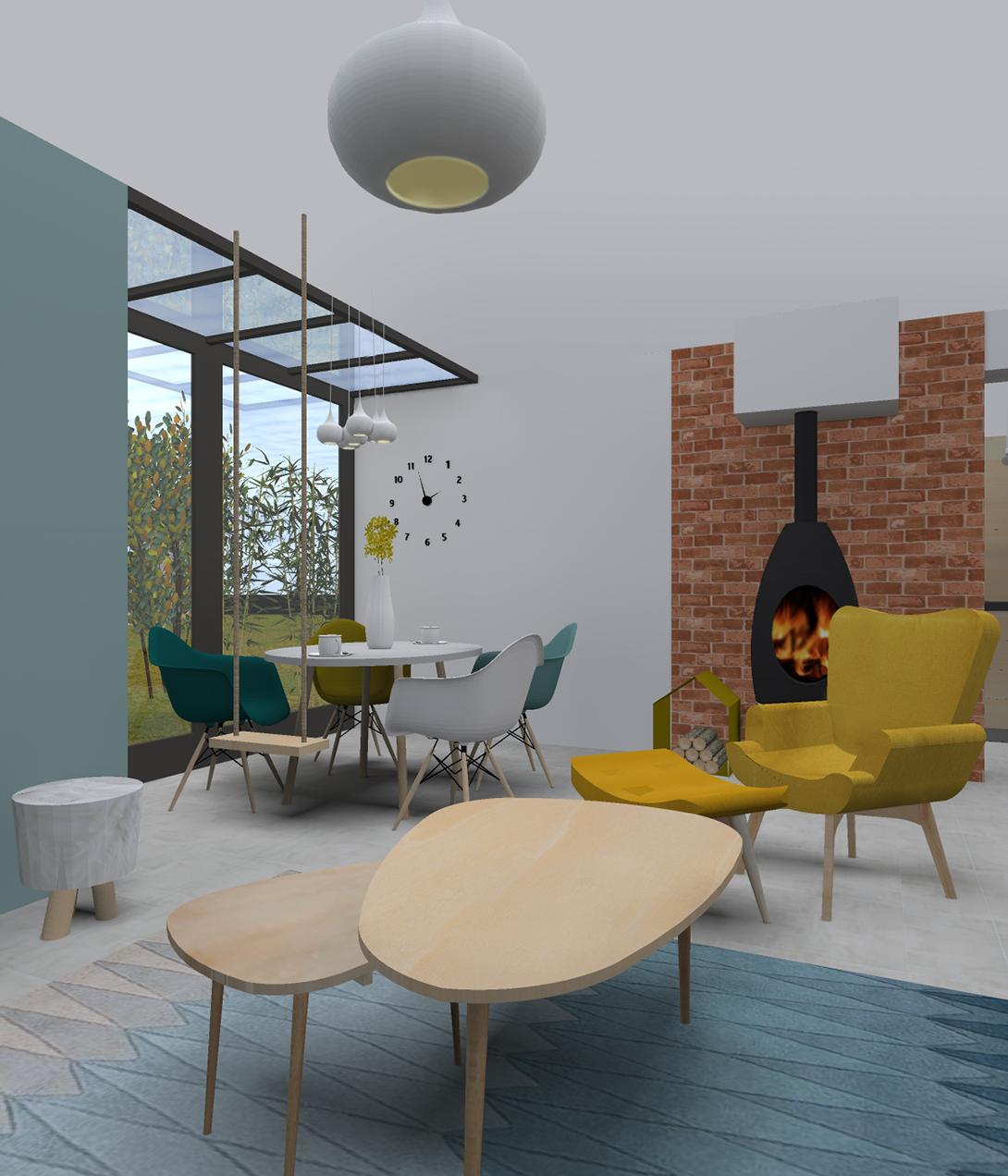 sk a agence d 39 architecture d 39 int rieur et de d coration salle de douche avec douche l. Black Bedroom Furniture Sets. Home Design Ideas