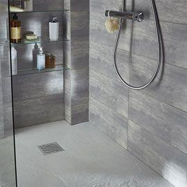 Carrelage mural gris clair 20 x 50 cm leccio salle de bain en 2019 salle de bains gris clair for Castorama carrelage mural salle de bain