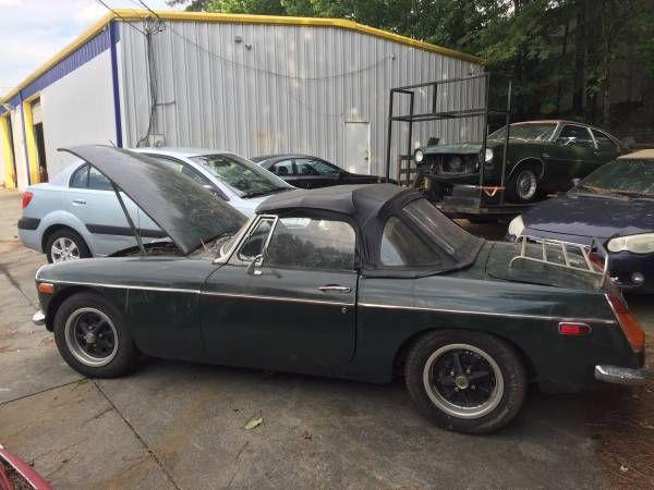 1971 MGB for restoration, cheap. $600. Atlanta, GA # ...