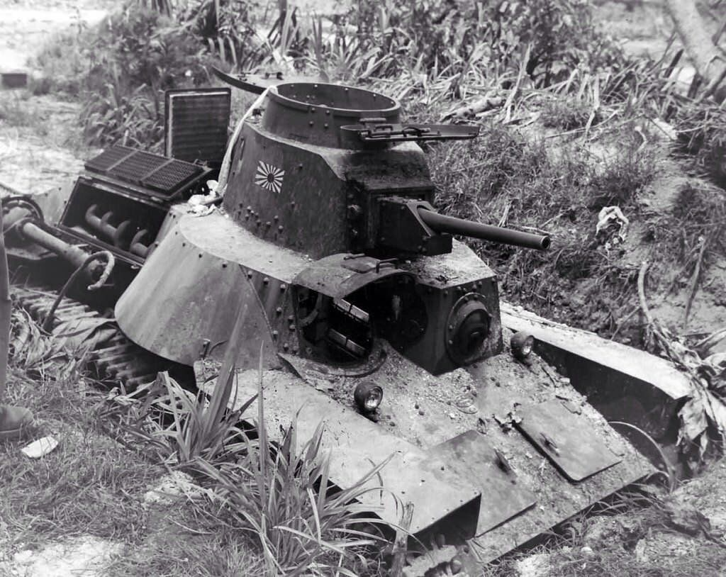World War II Images — Japanese tank Type 95 Ha-Go [Source]