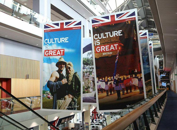 """#ExploreGB Celebrates #Britain's Record Tourism: #VisitBritain will continue to invest in its multimillion-dollar """"Great"""" campaign. // © 2015 TravelAge West/VisitBritain"""