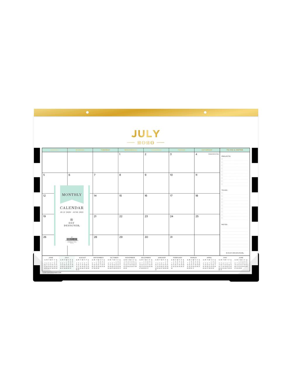 Day Designer Calendar Stripe 118349 Office Depot in 2020