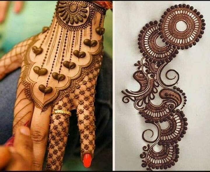 25 Magnificent Henna Cuff Designs For Inspiration: Eid Mehndi Designs, Mehndi Designs