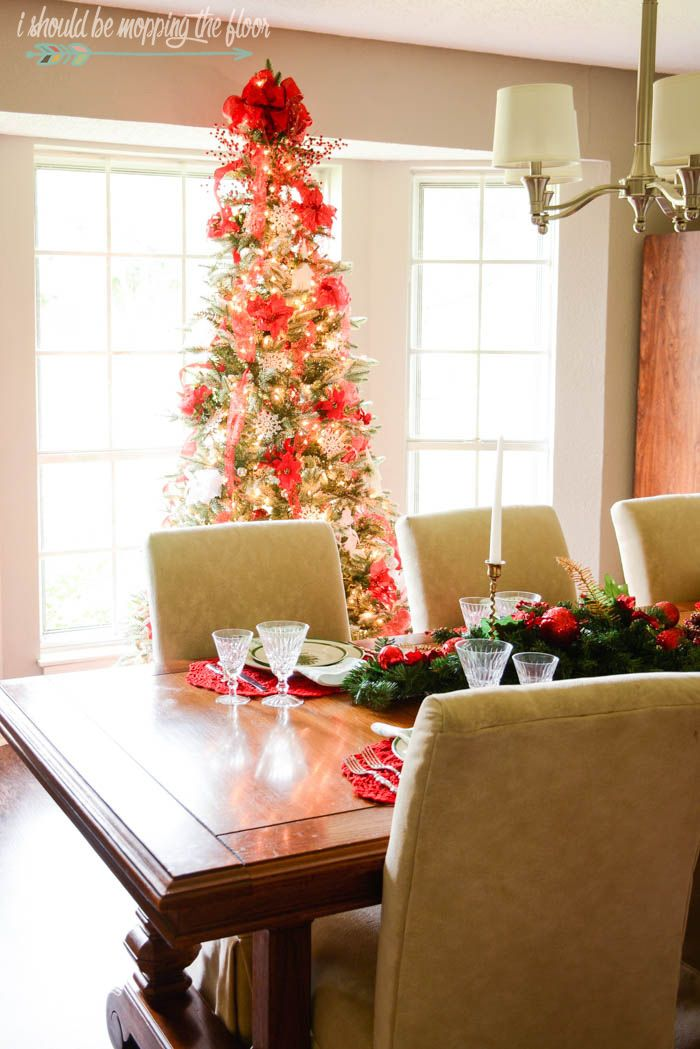 christmas home tour ranch stylechristmas - How To Decorate A Ranch Style Home For Christmas