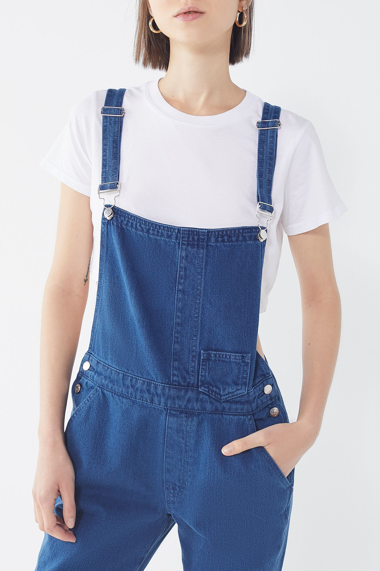 92c532db264 Slide View  5  GUESS UO Exclusive Denim Overall Overalls