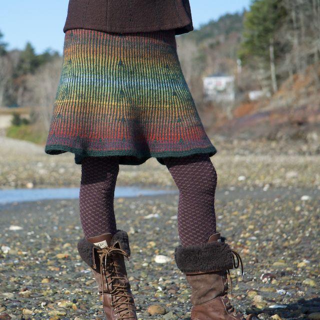 Awesome fair isle skirt pattern! | Knitspiration | Pinterest ...