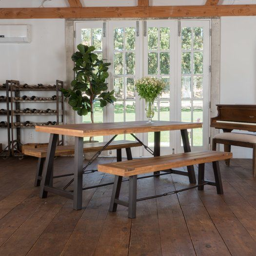 Lebanon 3 Piece Wood Dining Set | Lebanon, Dining and Woods