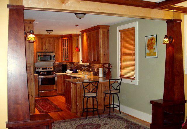 craftsman style kitchen cabinets | dry goods storage ...