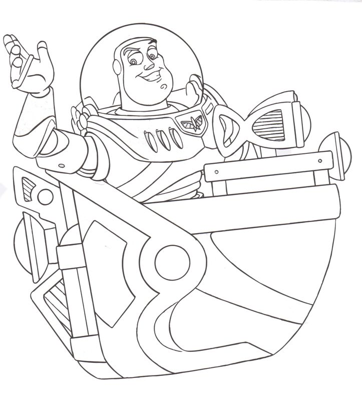 disney coloring pages buzz light year coloring pages
