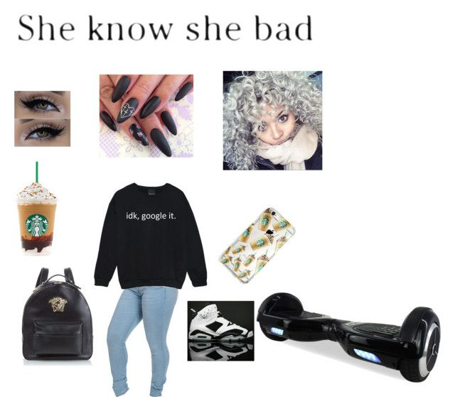 """""""Toni Romiti~ Nothing On Me"""" by mirical on Polyvore featuring NIKE, Versace and xO Design"""
