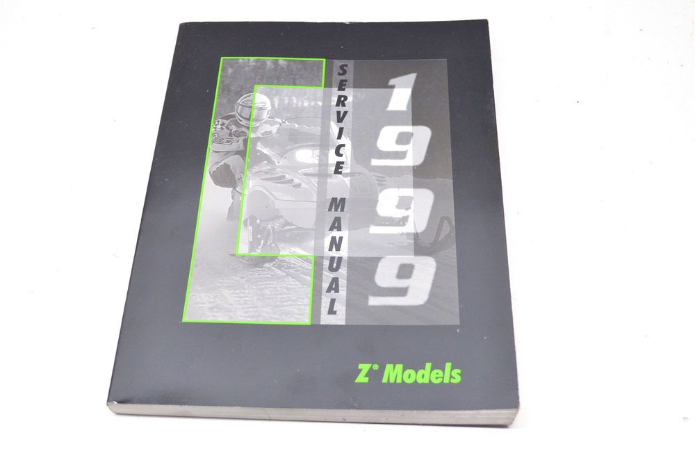OEM Arctic Cat Service Manual 99 Z Models