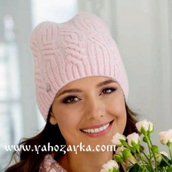 вязание шапок спицами вязание спицами шапки женские схемы я