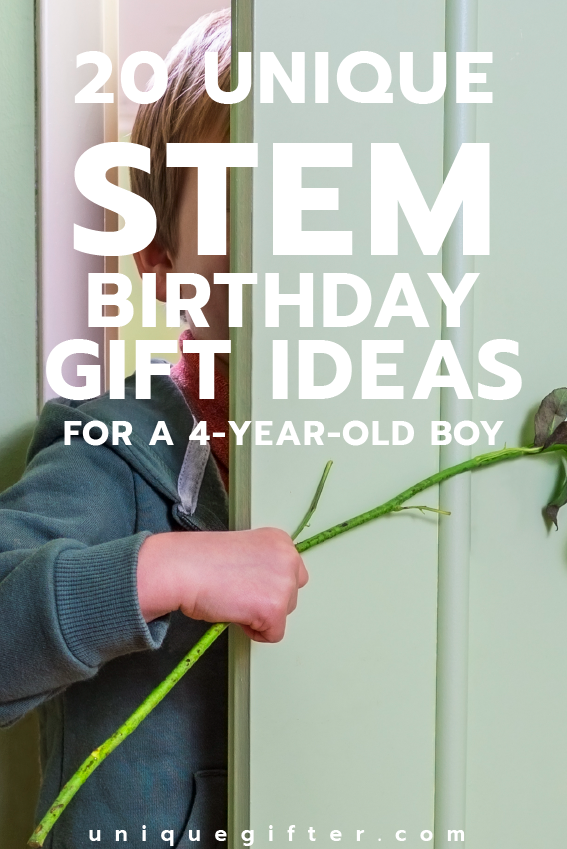 Fantastic STEM Birthday Gift Ideas For A 4 Year Old Boy