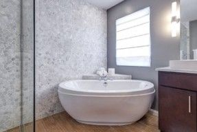 Magnificent Freestanding Corner Bathtub Pictures Inspiration - The ...