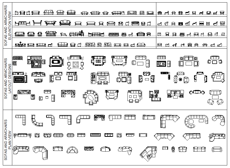 Download This Full Collection Of Over 100 2d Cad Blocks Of