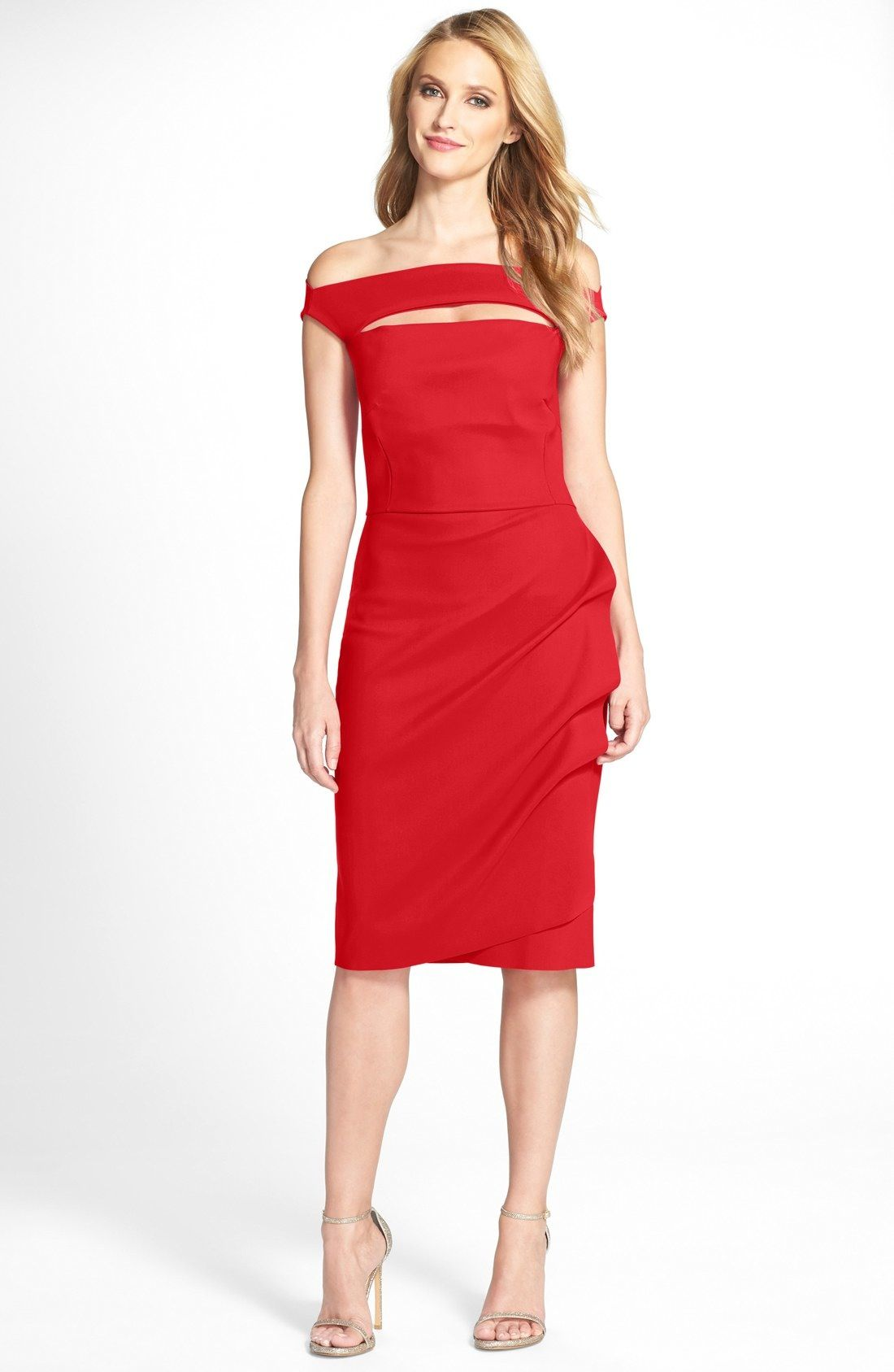 9e0ef3b2 Chiara Boni La Petite Robe 'Melania' Jersey Dress available at #Nordstrom