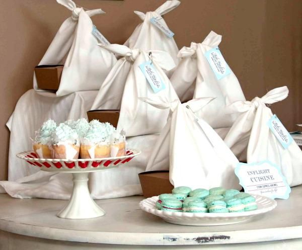 Special Delivery Stork Airline Themed Baby Shower Cute Ideas
