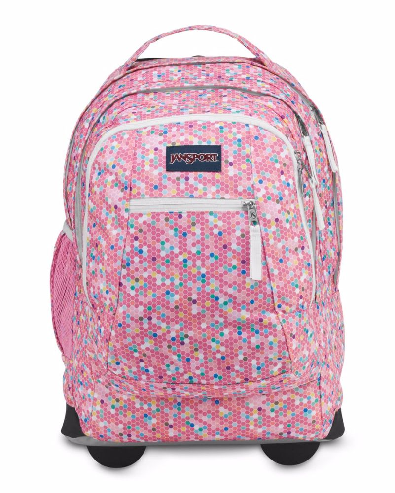 Jansport Driver 8 Rolling Backpack Confetti Rolling Backpack Jansport Jansport Rolling Backpack
