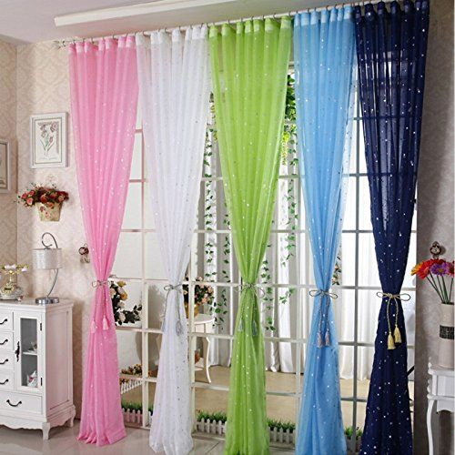 Amazon Com Lqf Window Treatments Decoration Perspective Sheer