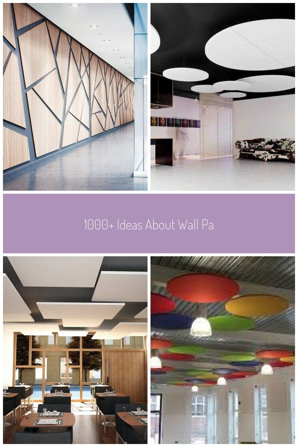 1000 Ideas About Wall Panel Design On Pinterest Pvc Ceilinglearning Common Sound Solutions Acoustical Solutions Acoustic Ceiling Tiles Recycled Acoustic Sound