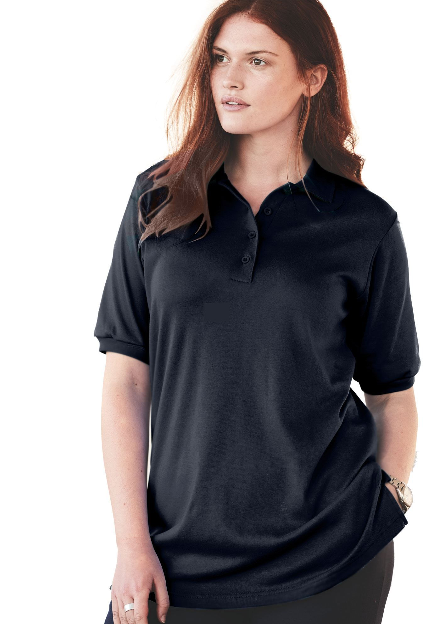 a0882bcdf61 Generous Fit Polo - Women s Plus Size Clothing