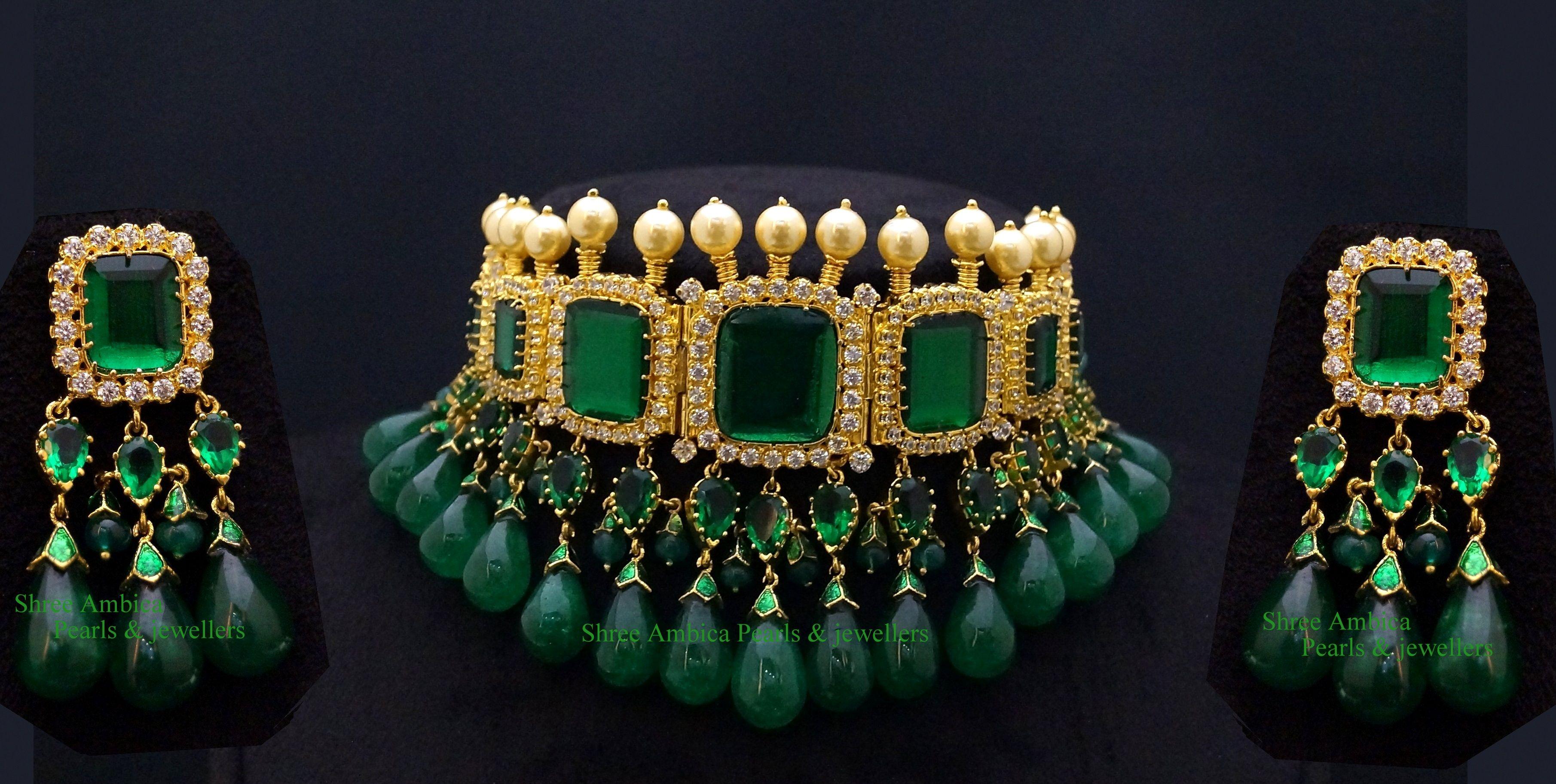 Nizami Jewellery Choker | Necklaces | Pinterest | Choker, Indian ...