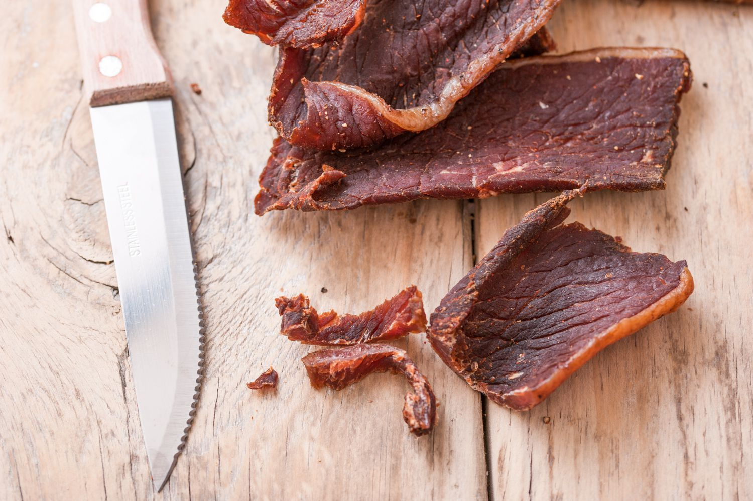 How To Make Authentic Beef Jerky In The Oven Recipe Jerky Recipes Beef Jerky Recipes Oven Jerky