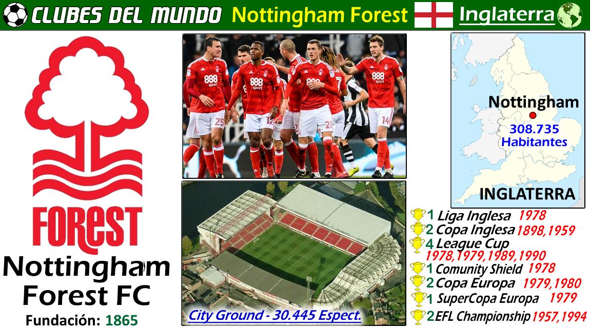 chic clásico nueva selección nuevo diseño El Nottingham Forest es todo una leyenda en el futból inglés ...