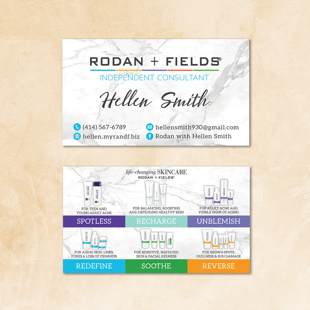 Personalized Rodan Fields Business