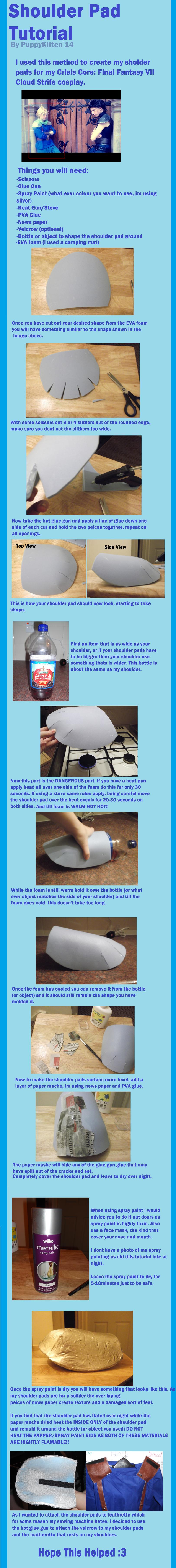 Shoulder Pad Tutorial by PuppyKitten14 deviantart com on