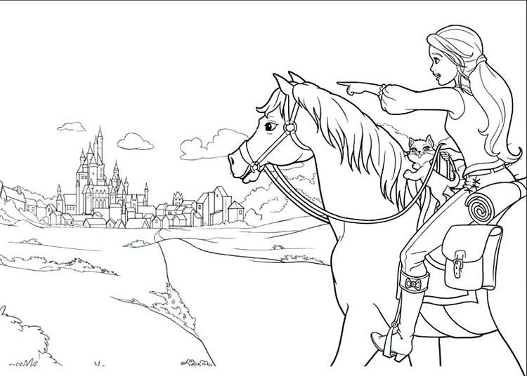 Pin By Fun Activity On Coloring Pages For Kids Barbie Coloring