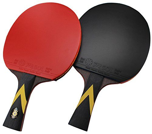 Pasol 6 Star Premium Ping Pong Paddle Professional Table Tennis Racket Pack Of 2 Ping Pong Paddles Table Tennis Racket Table Tennis