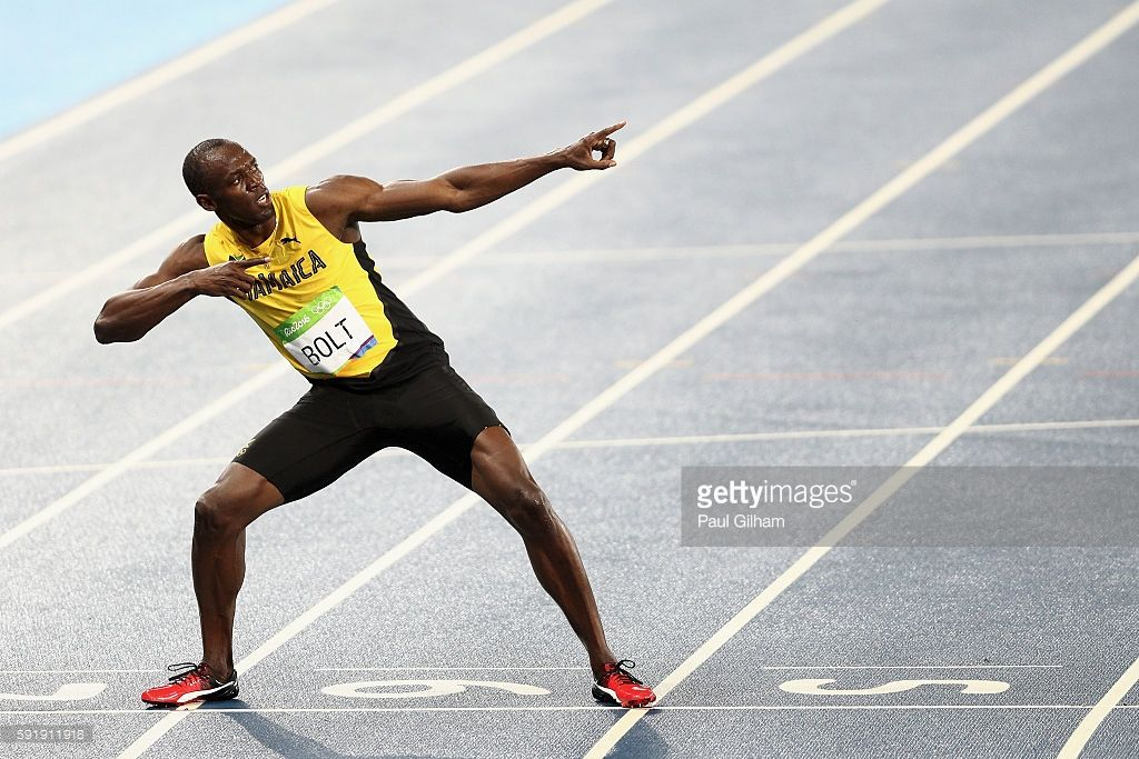 Athletics - Olympics: Day 13 | Usain bolt pose, Nbc ...