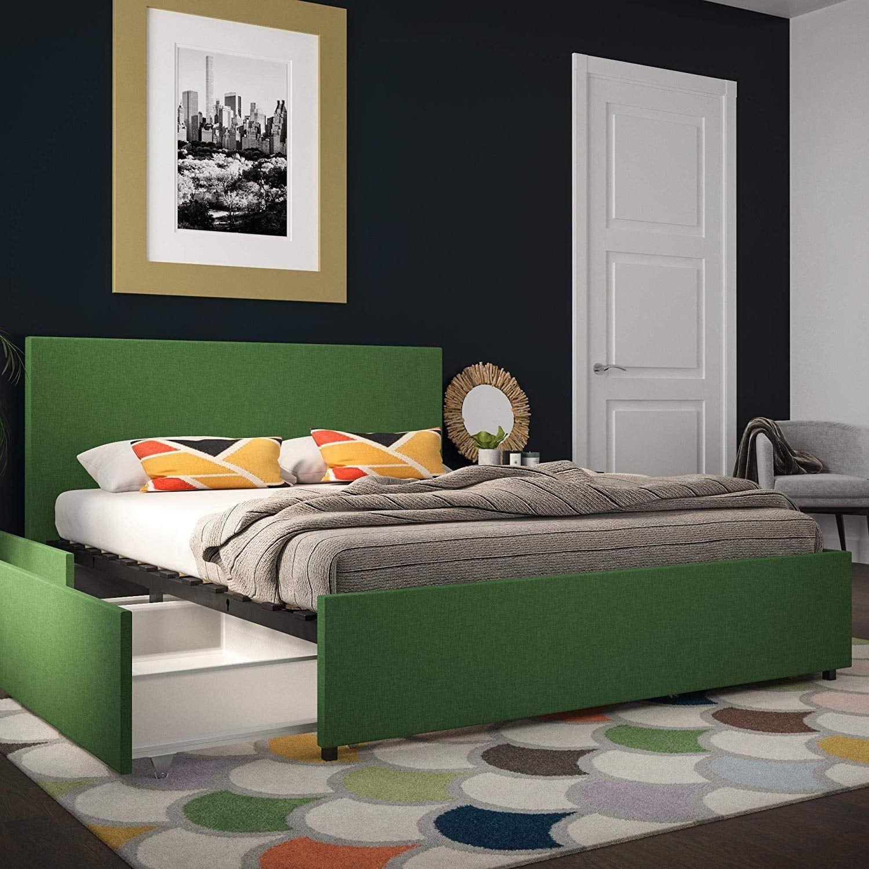 Novogratz Kelly Bed with Storage Bed storage