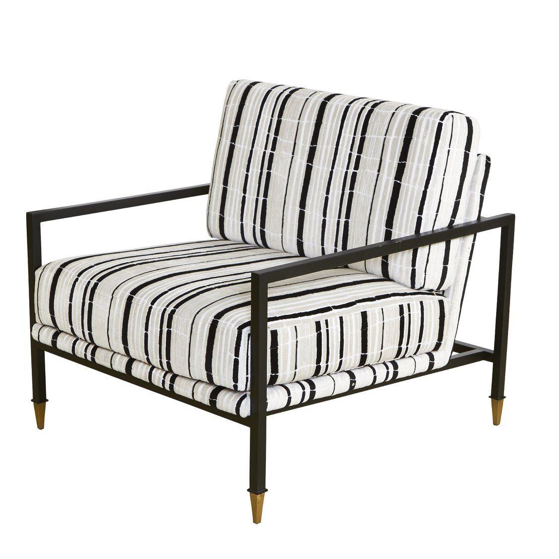 Florence Broadhurst Sydney Armchair Black And White Pinterest