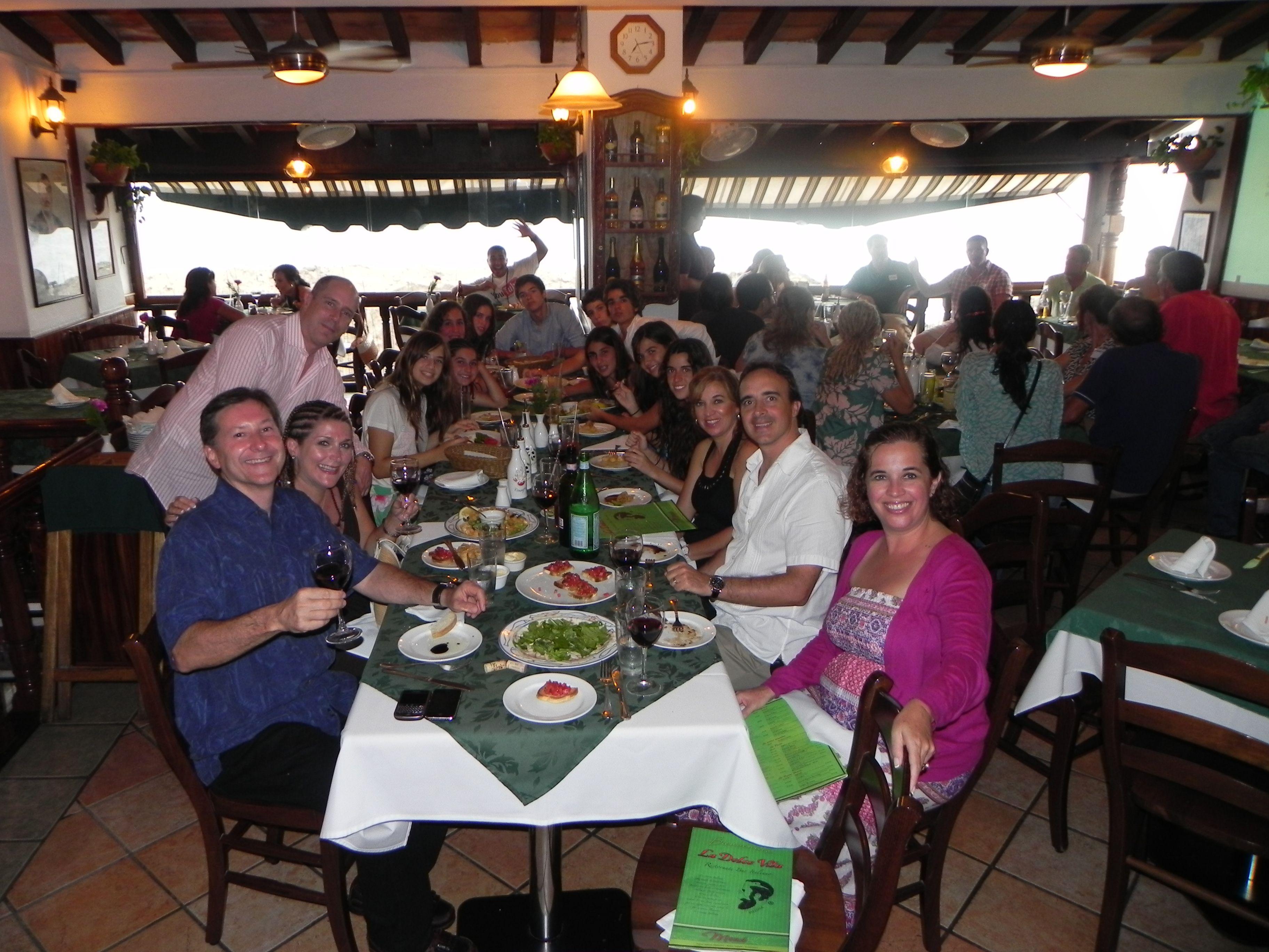 Puerto Vallarta with the Mazzini's and Jimenez