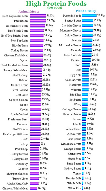 High Protein Food List http://www.weightlossjumpstar.com/category/nutriton/